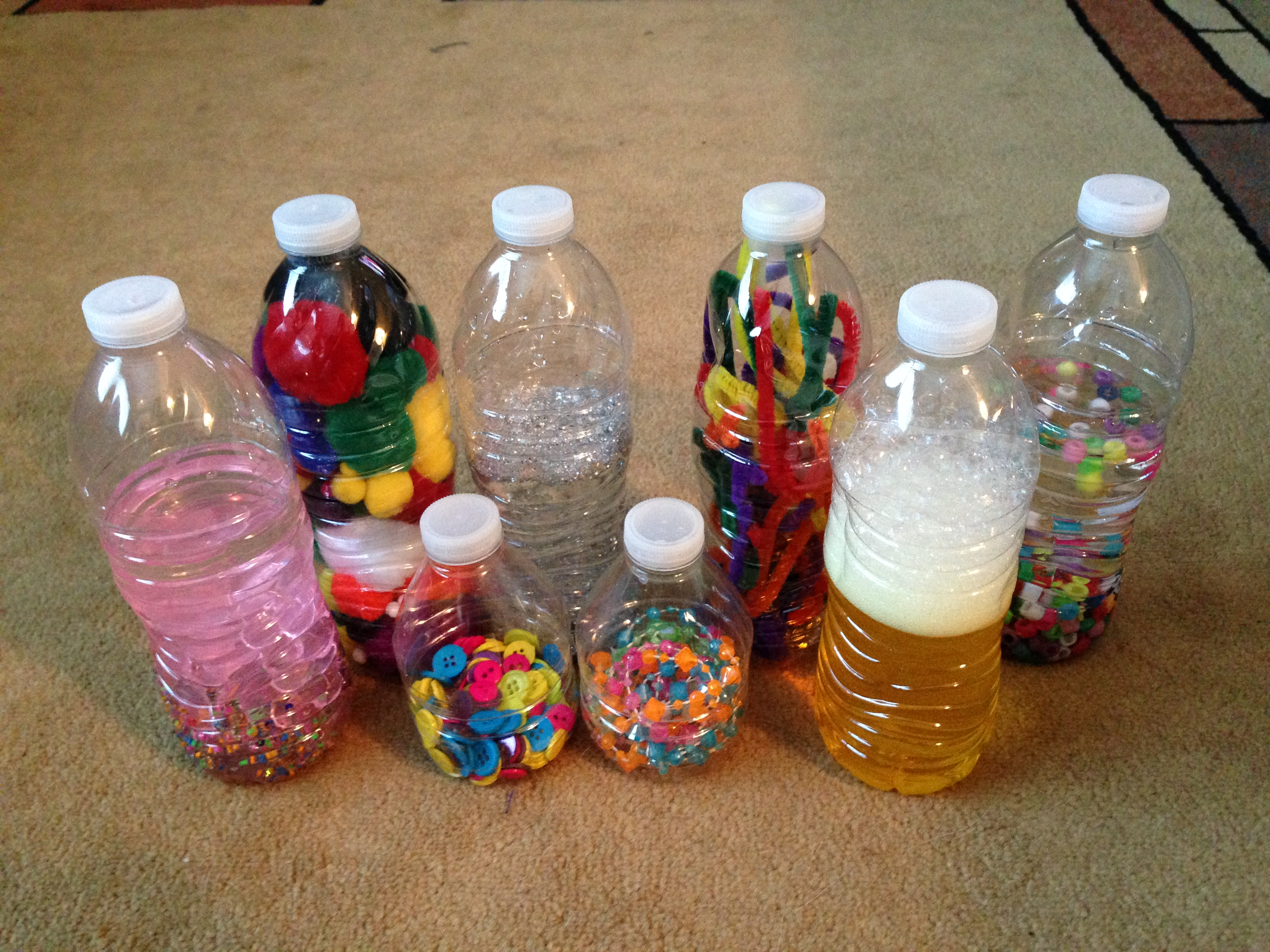 Diy Baby Toddler Toys Sensory Bottles And Treasure Baskets Twin Talk