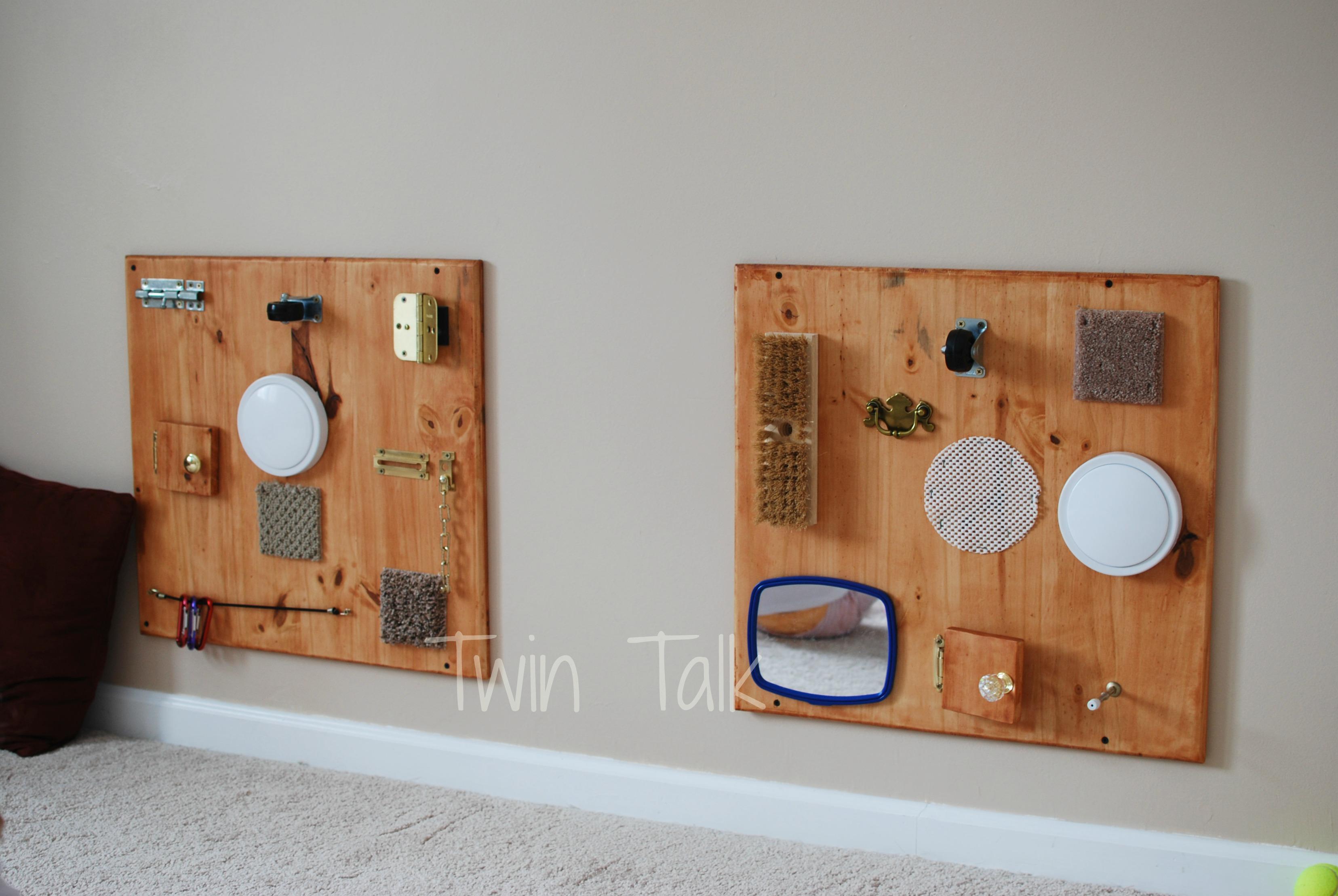 DIY sensory boards – Twin Talk