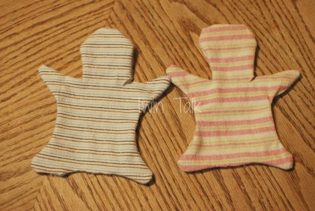 DIY:Upcycled Baby Blanket Bunnies