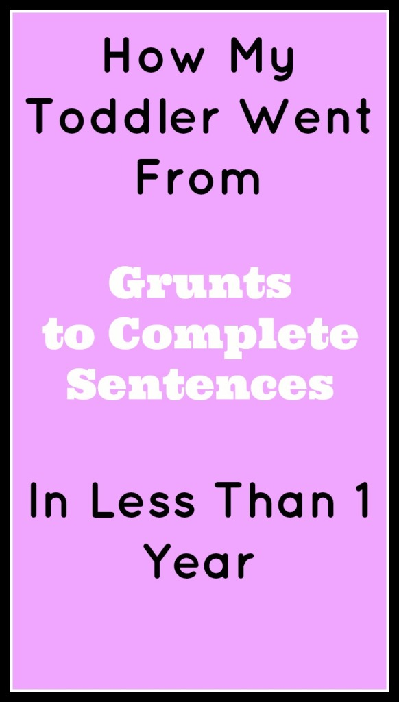 From Grunts to Sentences